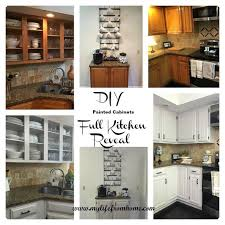 diy kitchen cabinet paintingDIY Painted Kitchen Cabinets  Hometalk