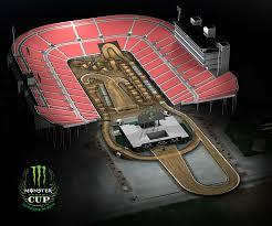 Nrg Stadium Seating Chart Monster Jam Track Maps Supercross Live