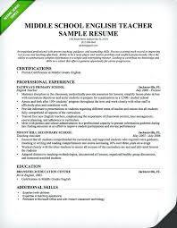 Teaching Resume Template Teacher Resume Sample Teaching Resume