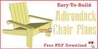 adirondack chair plans. Unique Plans Simple Adirondack Chair Plans Free PDF Download In Chair Plans R