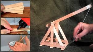 Trebuchet Catapult Design Plans How To Build A Trebuchet Catapult With Popsicle Sticks