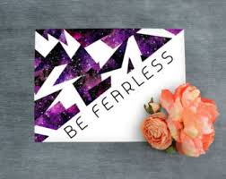 trendy office decor. be fearless wall art printable room decor decoration office boss trendy