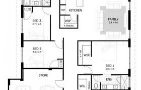 3 Bedroom 2 Bath Floor Plans Beautiful 4 Bedroom 2 5 Bath House Plans  Bibserver Of