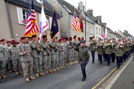u s department of defense photo essay a german army band salutes u s army paratroopers during festivities to mark the 67th anniversary of
