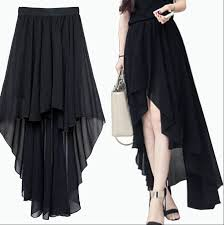 Long Skirt Patterns New Summer Plus Size Asymmetrical Skirt A Line Skirt Pattern Long Sheer