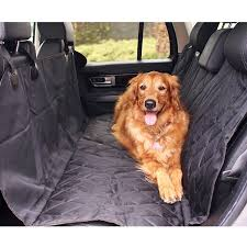 Amazon BarksBar Pet Car Seat Cover with Seat Anchors for