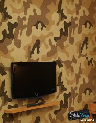 desert brown military camo camouflage wall mural 6062 on camo wall art self stick with peel and stick wall murals removable wall murals