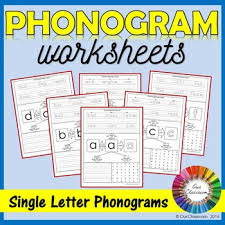 They can be used with any child practicing phonics, phonograms, handwriting and spelling. Spalding Phonogram Worksheets Single Letter Phonograms By Our Classroom