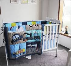 baseball crib sheets luxury ups free new baby 4 pcs set dog car boy baby cot