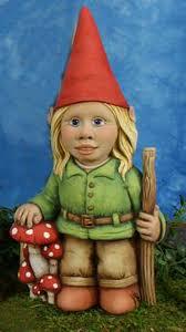 female garden gnome. Delighful Female Tallula Girl Gnome  Ceramic Gnomes To Paint To Female Garden
