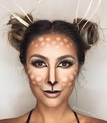 pretty deer makeup nice fade blending on the brown