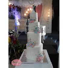 Wedding Cake Kue Pengantin 4 Tingkat Cikarang Shopee Indonesia
