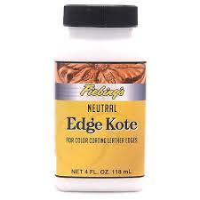 Fiebings Edge Kote Neutral 4 Oz Edge Finish