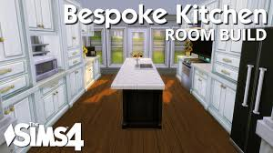 Sims Kitchen The Sims 4 Room Build Bespoke Kitchen Youtube