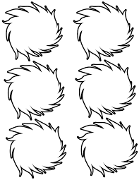 The Lorax Trees Coloring Pages My Localdea