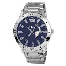 addic charming blue silver chain stylish men s watch watches men addic charming blue silver chain stylish men s watch