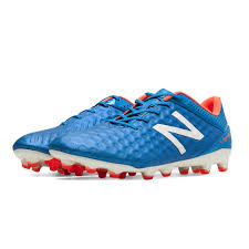 new balance cleats. new balance visaro pro (wide) fg soccer cleats (bolt/flame/white)