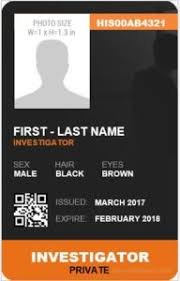 Identification Template Microsoft Word Id Card Templates
