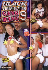 Black cheerleader gangbang 9