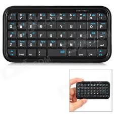 LS BK989 Mini 49 Key Bluetooth V3 0 Keyboard for Iphone 5 Black
