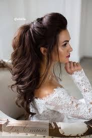 Photo Coiffure Mariage Brune Cheveux Long Coupe De Cheveux