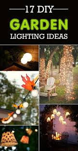 Diy lighting ideas Bamboo Your House Garden 17 Gorgeous Diy Garden Lighting Ideas