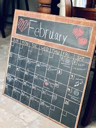 how to make a wood wall calendar