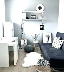 small office bedroom. Small Home Office Guest Room Ideas Spare Bedroom