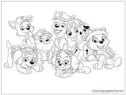 Paw Patrol Coloring Pages Chase Free To Print Halloween Printable