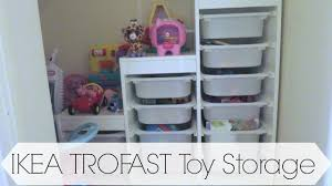 Ikea Toy Organizer Ikea Trofast Toy Storage Youtube