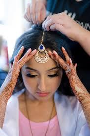 indian wedding makeup and hair