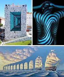 How to make modern art Child Illusion Art Newcity Art How Modern Artists Make Us Look Twice With Mindbending Illusion Art