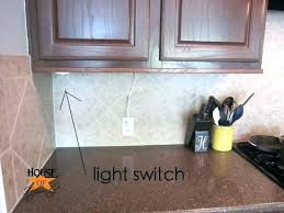 under cabinet lighting switch. Cabinet Light Switch Under The Finale To Lighting Debacle Throughout Awesome Along With Gorgeous Switches For A
