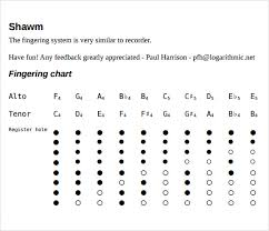 Recorder Finger Chart Sample 7 Documents In Pdf