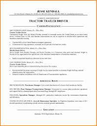 8 Mercial Truck Driver Resume Sample Sample Resume For Truck