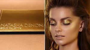 <b>Natasha Denona</b> Is Releasing the Gold Eye Shadow Palette October 2