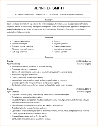6 Science Resume Examples Quit Job Letter