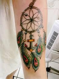 Breast Cancer Dream Catcher Tattoo