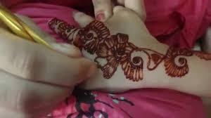 Mehndi Designs 2013 For Children S Hand Eid Mehndi Designs For Kids Youtube