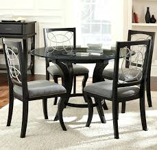 glass table dining sets silver 5 piece glass top dining set round glass dining table set uk