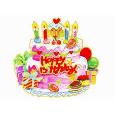 3d Happy Birthday Cake Banners