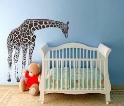 baby nursery lovable designs of boy wall decals for giraffe nursery