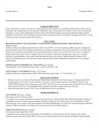 Career Objective Of Sport Marketing Assistant With Resume Examples