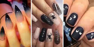 27 nail art ideas for a cute but creepy mani