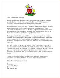 letter from teacher to parents sample student teacher letters to parents military bralicious co
