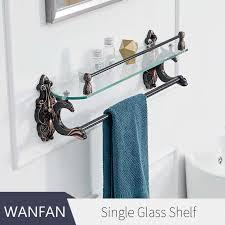 luxury bathroom shelves brass shelves