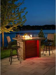 propane patio fire pit. Want A Romantic Fire Pit In Your Back Yard? Why Not Try Out This Tall Propane Patio E