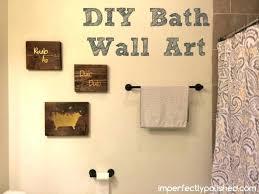 bath wall art decor