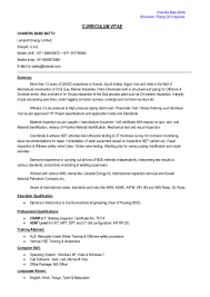 Piping Inspector Resume Free Resume Example And Writing Download