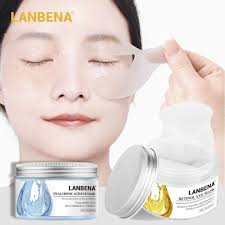 <b>50pcs</b>/<b>lot</b> LANBENA <b>Retinol Eye Mask</b> Reduces Dark Circles Bag ...